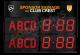 GAA Electronic Scoreboard FG-4 (4 digital letters per team name)