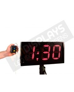 LED Concentration Countdown Clock for track and Field (15cm tall digits)
